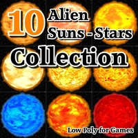 10 Alien Suns - Stars Collection