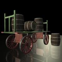 Game Ready Barrel Wagon