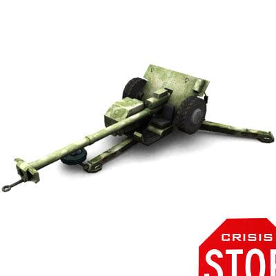 3dsmax russian cannon