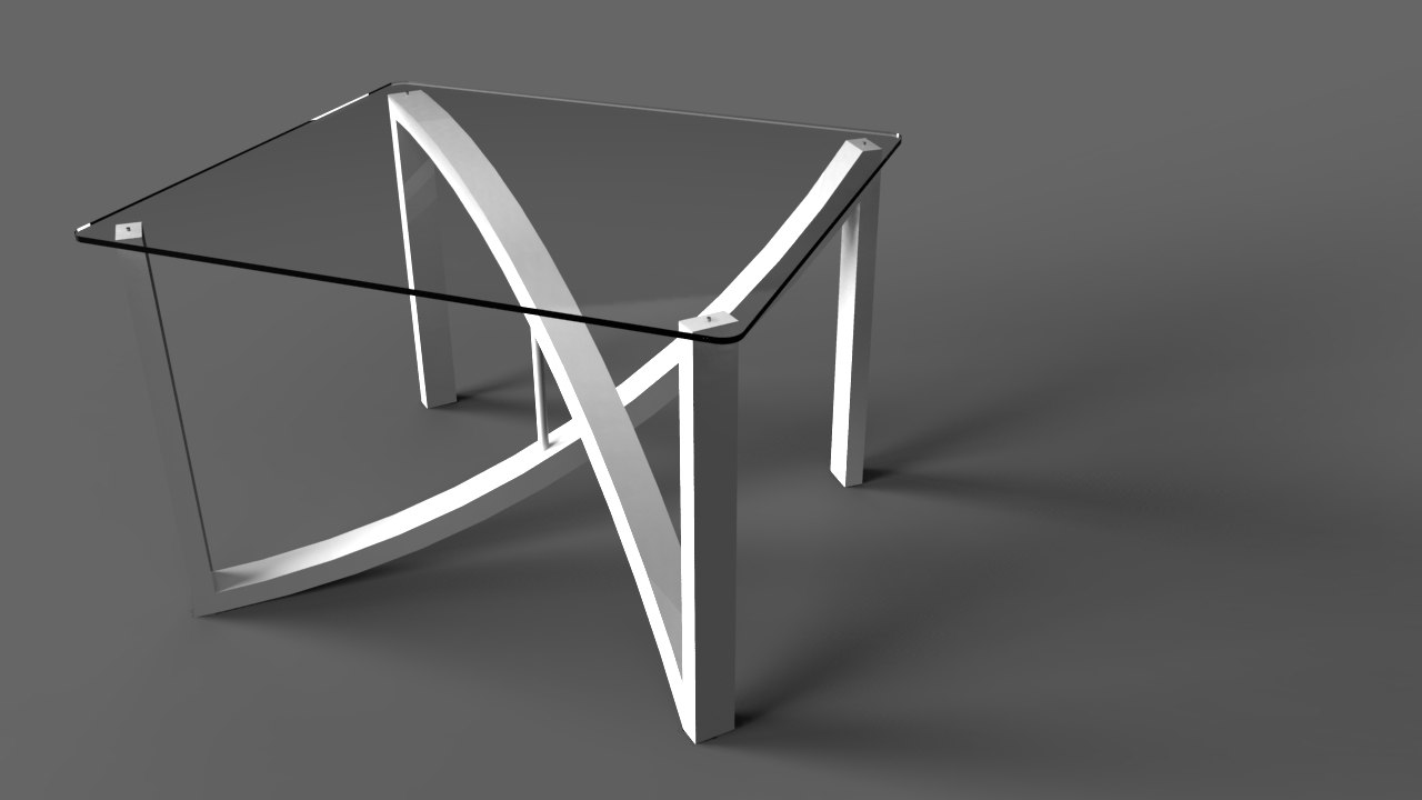 3ds design table glass