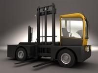 3d model lancer lift truck lq50
