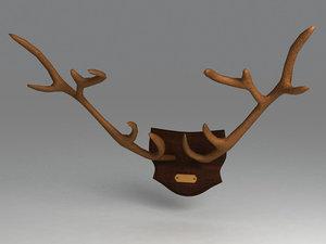 horns 3d model
