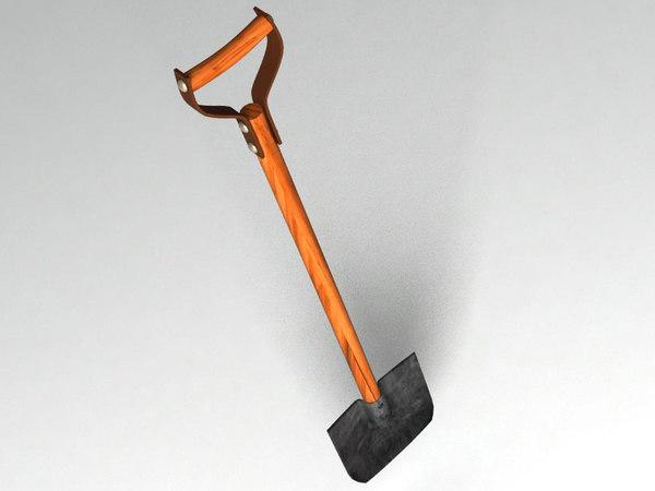 3ds max shovel