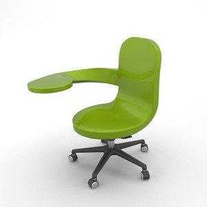3d model laptop chair