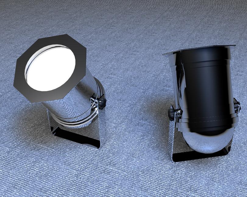 3d par lamp lighting