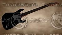 cinema4d electric guitar