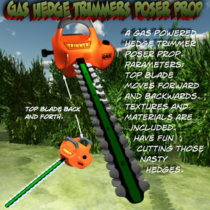 hedge trimmers 3d pz3