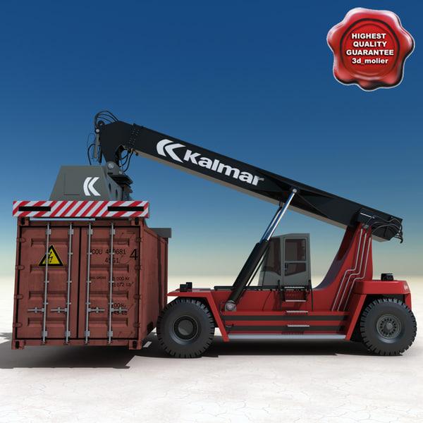 max kalmar reach stacker container
