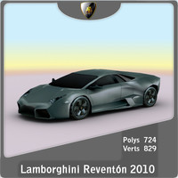 2010 lamborghini reventon 3d lwo