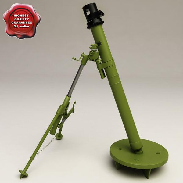 3d mortar 2b14 podnos 82mm