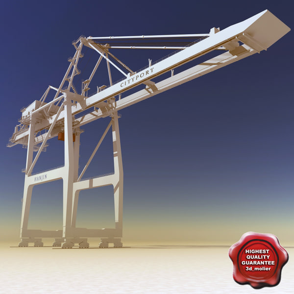 lightwave port container crane