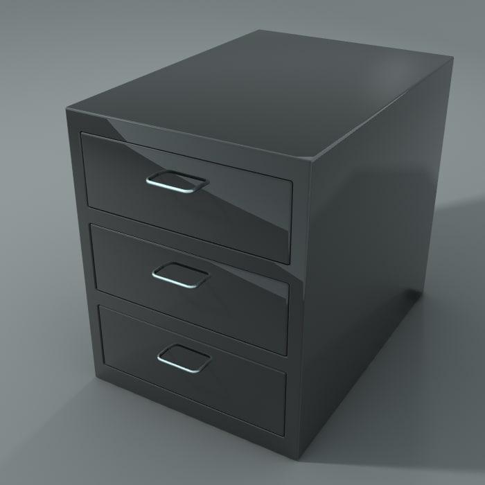 3ds max office closet