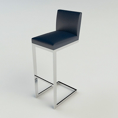 brueton hs bar stool 3d max