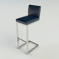 BRUETON HS BAR STOOL - Vray & A+D MATERIALS
