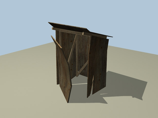shack 3d x