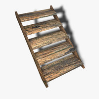 stairs sample asset obj free
