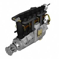 lightwave mercedes d engine
