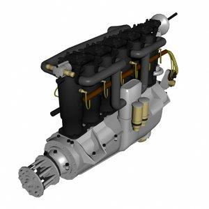 lightwave mercedes d engine