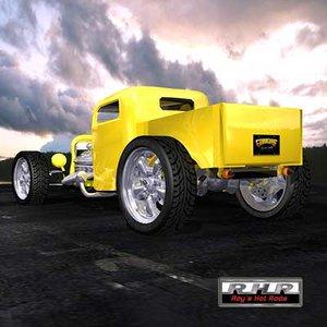 hot rods 3d model