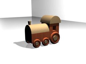 wood train max free