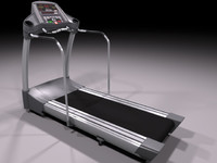 High-poly Treadmill