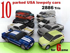 3d 3ds usa cars 10