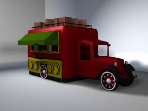 3d model coney island hot dog