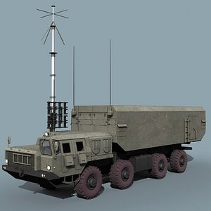 54k6 command post sa-10 sa-20 3ds