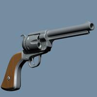 3d handgun gun
