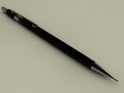 maya mechanical pencil