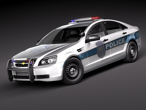 3ds max - police