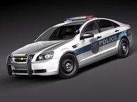 Chevrolet Caprice - Impala Police Patrol Vehicle USA 2011