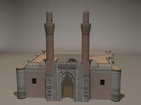 3d madrasa model for games