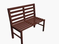 wood bench(1)