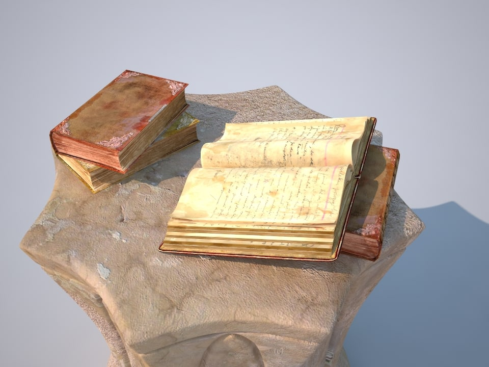 old books 3ds