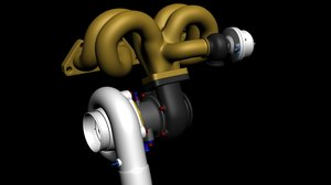 free max mode turbocharger header wastegate