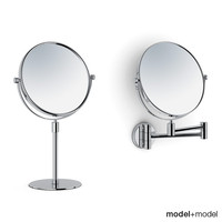 3d magnifying mirrors model