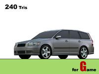 volva v50 drive cars 3d model