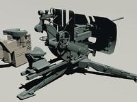 3d wwii german 2cm