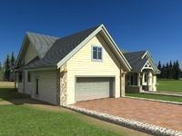 nice single home 3d model