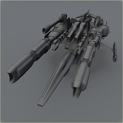 free fighter 3d model