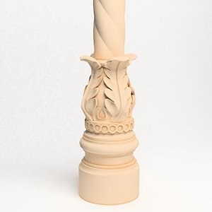 classical decoration interior 3d model
