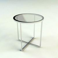 end table - materials 3d max