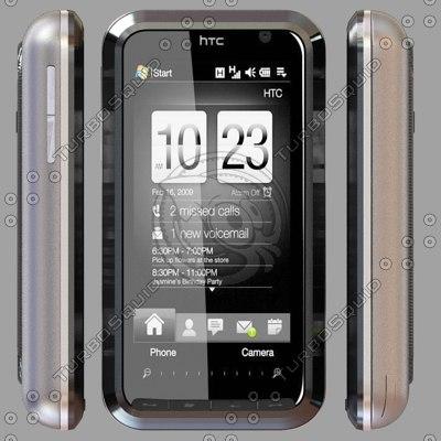 htc touch pro2 3d model