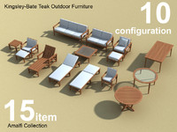 Amalfi Teak Outdoor furniture