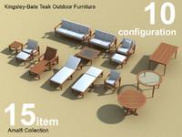 Amalfi Teak Outdoor furniture