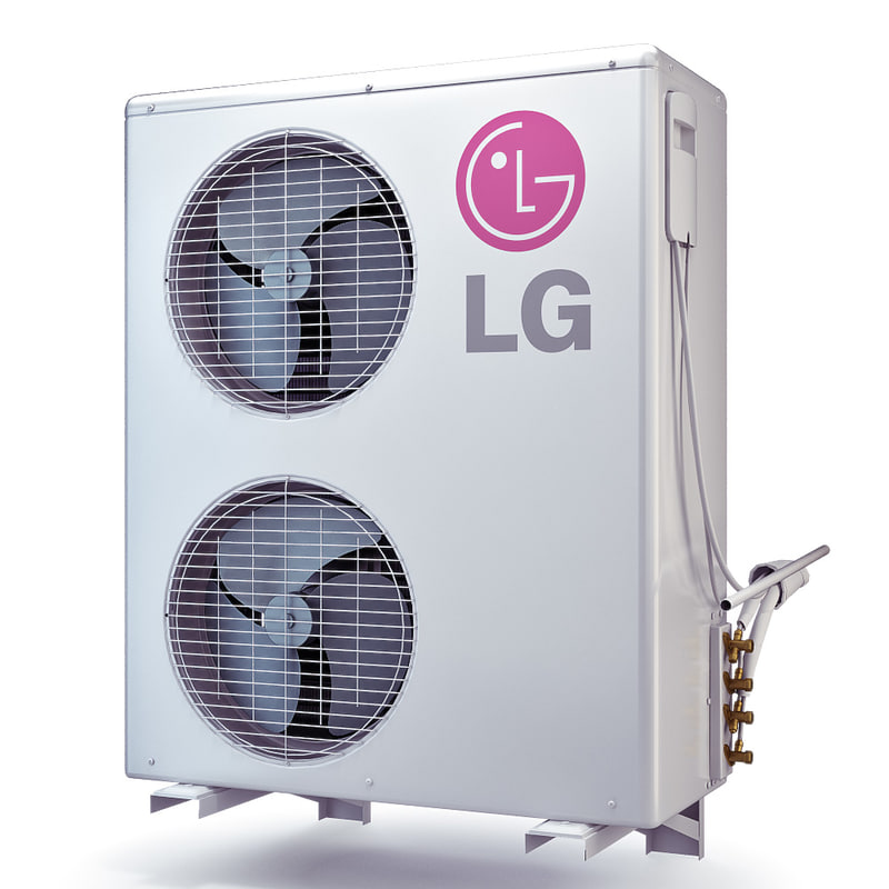 air conditioner lg s36lhp 3d max