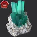 akvamarin beryl 3D models
