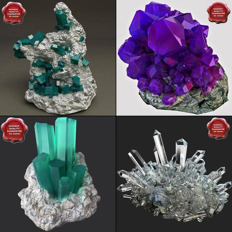 3ds max minerales mineral
