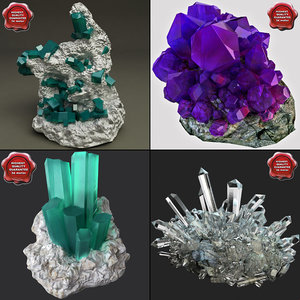 3ds max minerales mineral